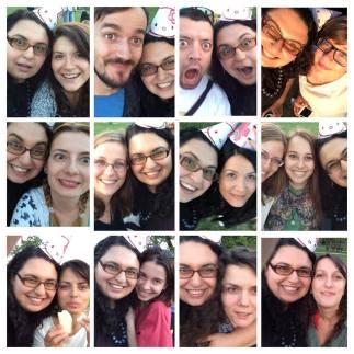 Selfie-uri de final