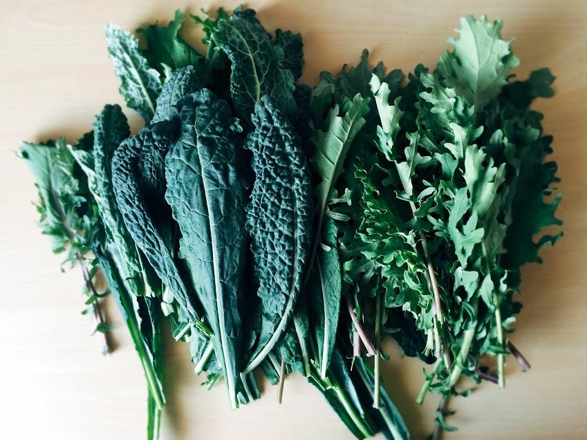 Somon + kale =yum