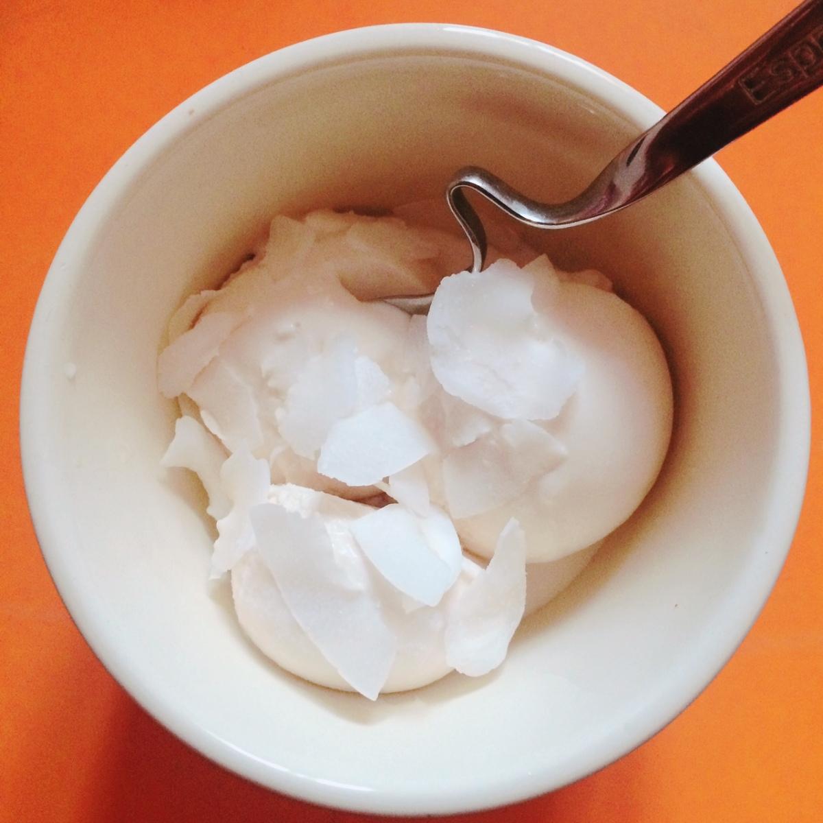 Înghețată de cocos