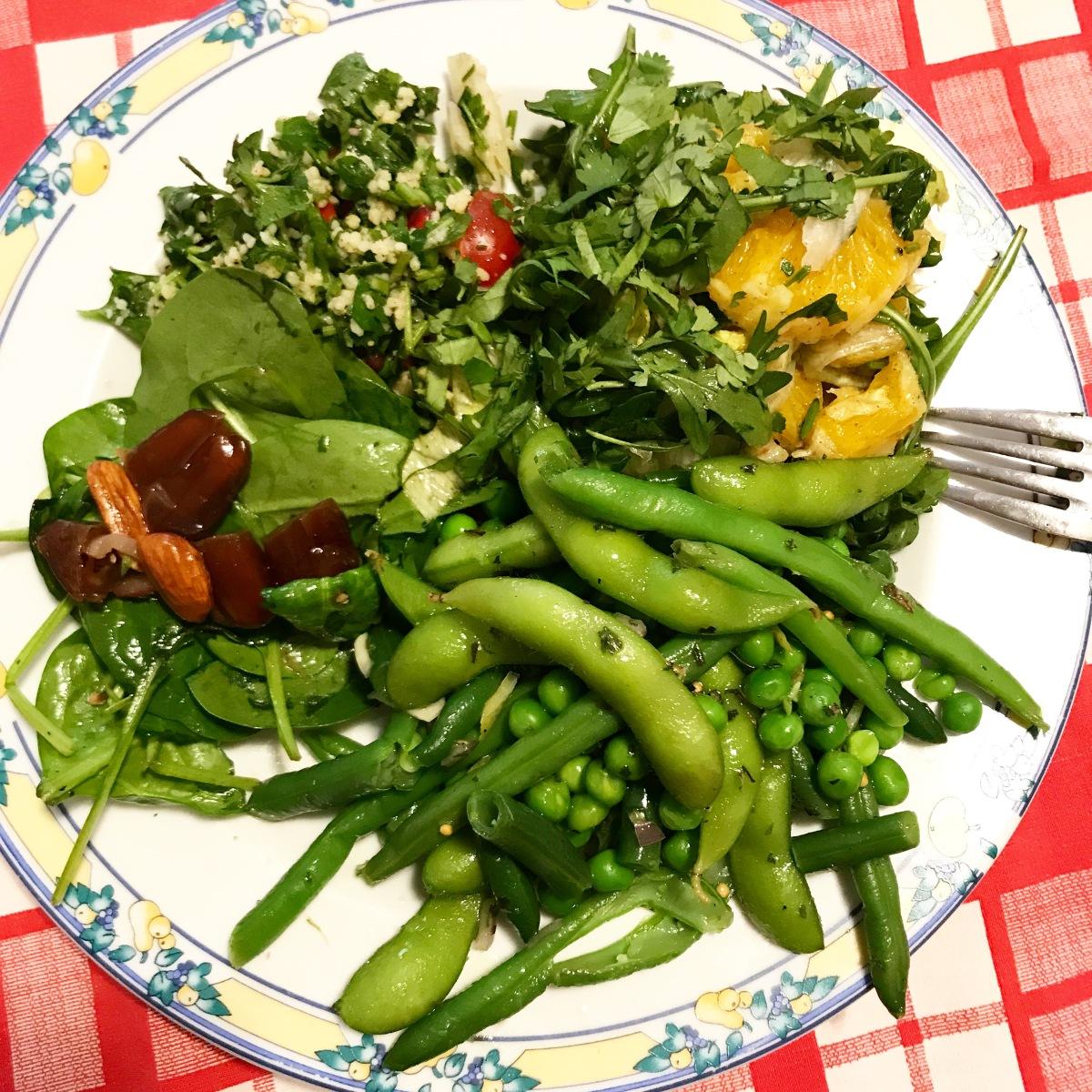 Patru salate de făcut labirou