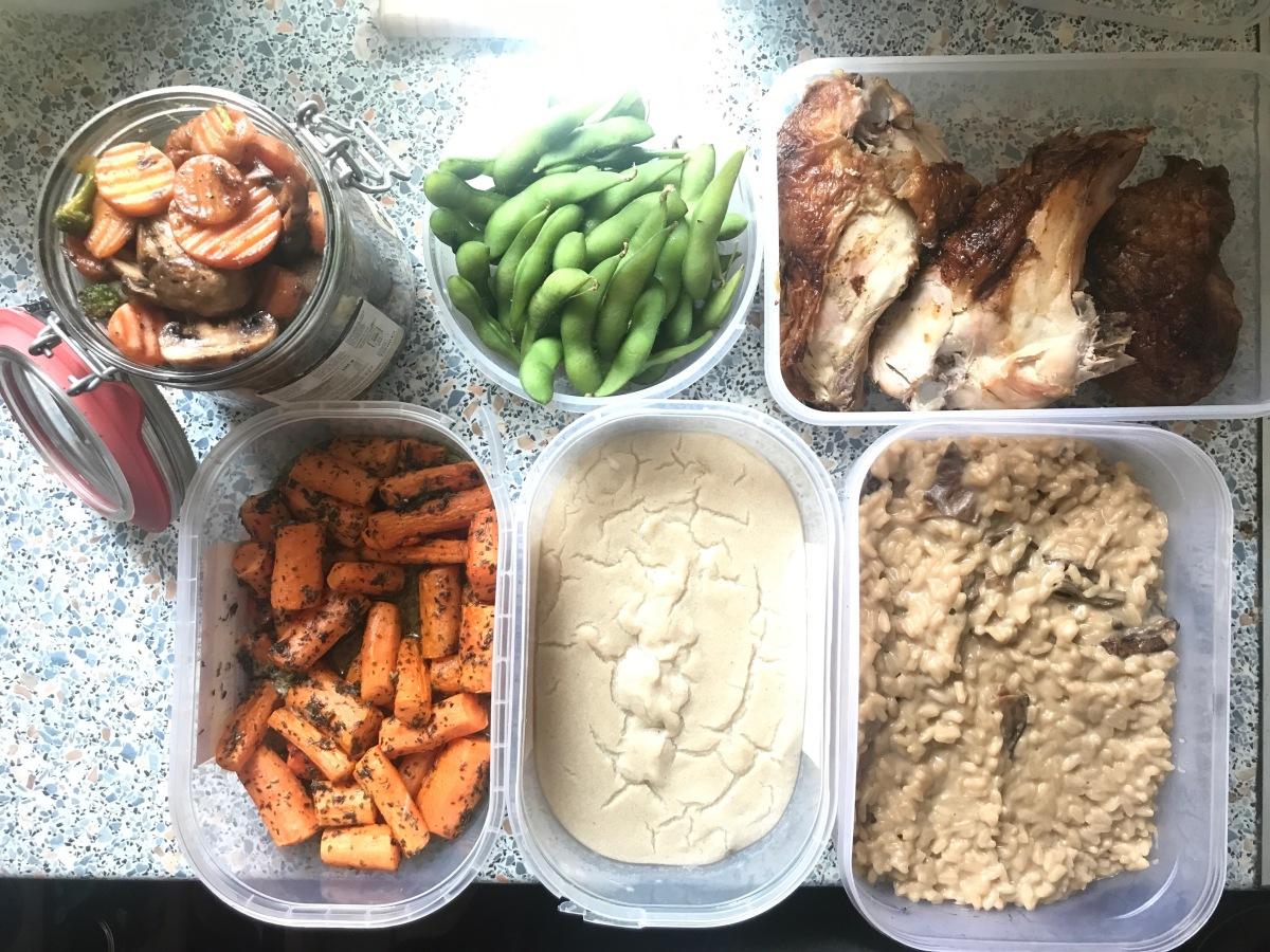 Meal planning, săptămâna 4 (dupărelapse)